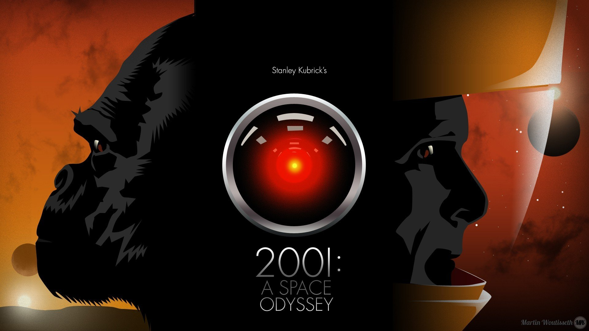 2001 A Space Odyssey Hal 9000 Hd Wallpapers Desktop And Mobile