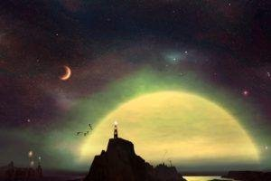 lighthouse, Space