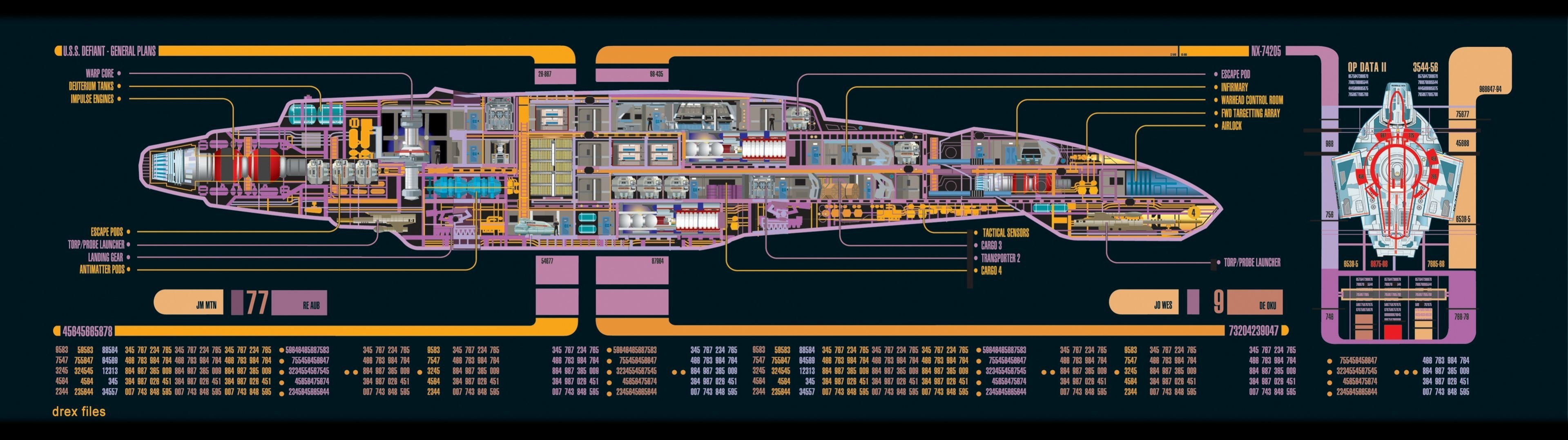 multiple Display, Star Trek, USS Defiant, Deep Space 9 HD Wallpapers / Desktop and Mobile Images & Photos
