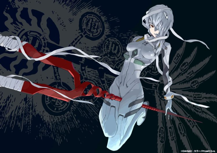 Neon Genesis Evangelion Ayanami Rei HD Wallpaper Desktop Background