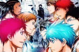 anime, Kuroko no Basket, Anime boys