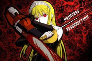 Princess Resurrection, Anime girls, Hime (Princess Resurrection)