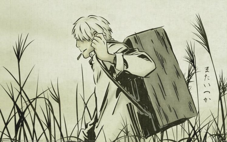 Mushishi, Anime, Fantasy art, Ginko (Mushishi) HD Wallpaper Desktop Background