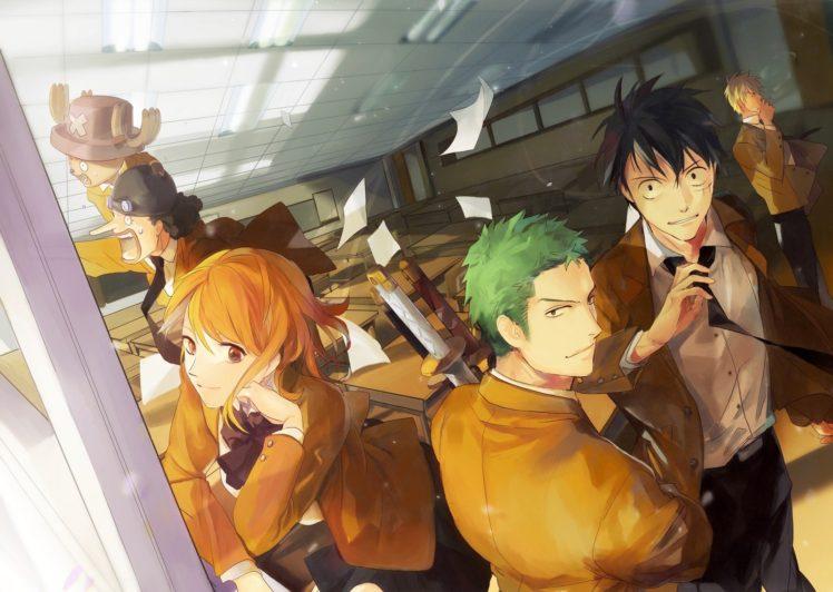 anime, One Piece HD Wallpaper Desktop Background