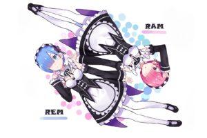 Re: Zero Kara Hajimeru Isekai Seikatsu, Rem (Re: Zero), Ram (Re:Zero)