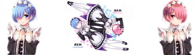 Re Zero Kara Hajimeru Isekai Seikatsu Rem Re Zero Ram