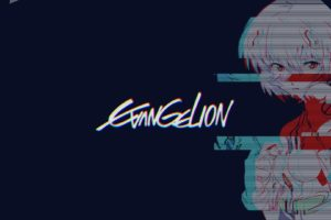 vaporwave, Vintage, Neon Genesis Evangelion, Chromatic aberration