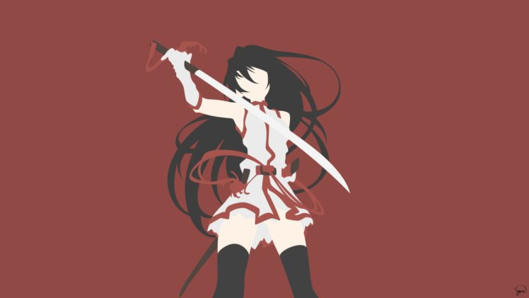 Akame ga Kill!, Akame, Thigh highs HD Wallpaper Desktop Background