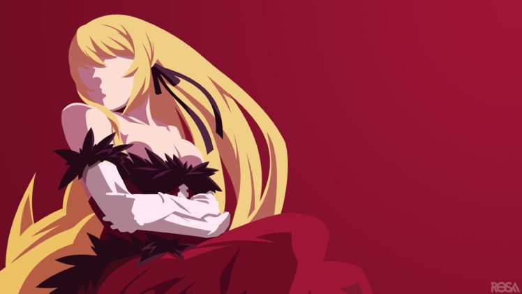 Monogatari Series Oshino Shinobu Anime Girls HD Wallpaper Desktop Background