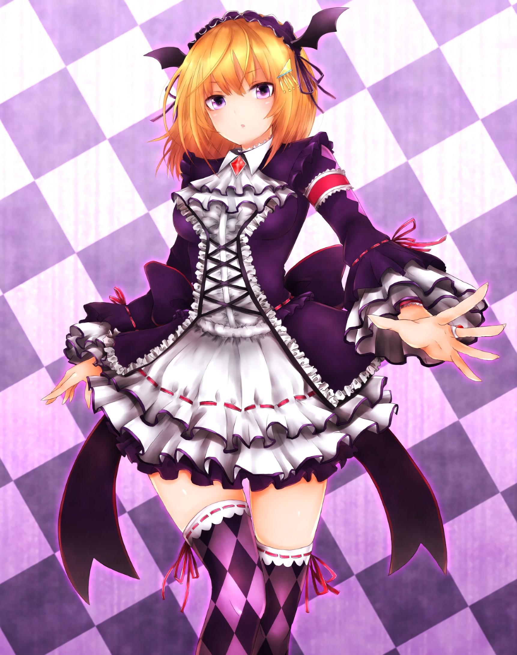 pink eyes, Anime, Anime girls, Phantasy Star Online 2