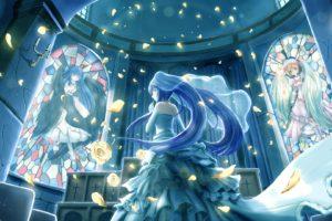 blue hair, 07th expansion, Visual novel
