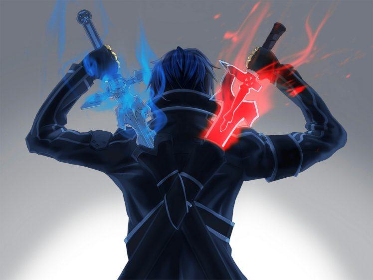 Sword Art Online, Kirigaya Kazuto HD Wallpaper Desktop Background