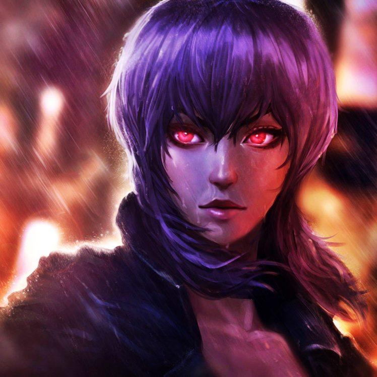 Kusanagi Motoko, Ghost in the Shell HD Wallpaper Desktop Background