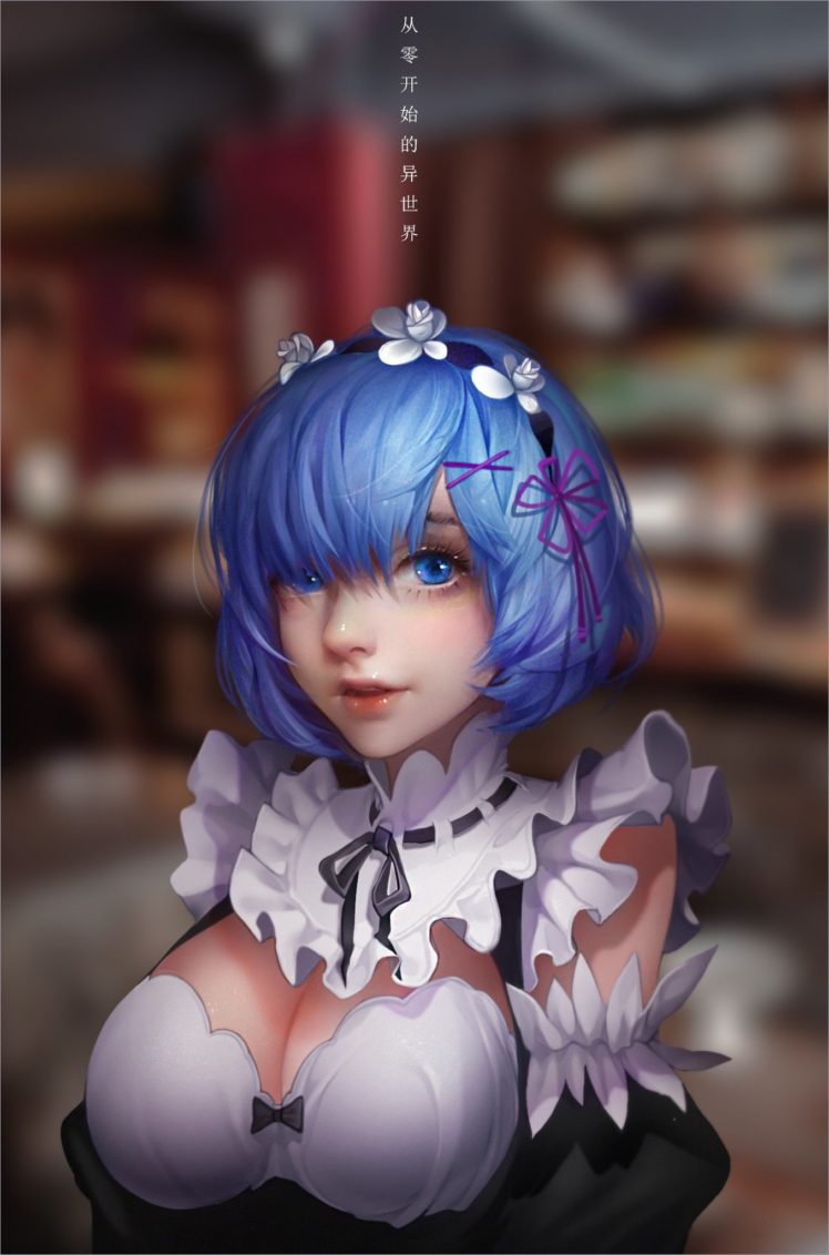 Anime Anime Girls Re Zero Kara Hajimeru Isekai Seikatsu Rem