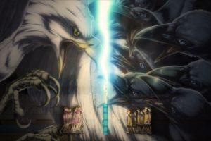Haikyuu!!, Karasuno, Shiratorizawa, Eagle, Crow, Anime, Anime art