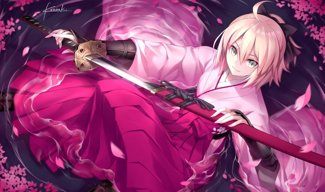 Fate Grand Order Sakura Saber Hd Wallpapers Desktop And