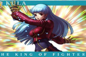 Kula Diamond, King of Fighters, SNK