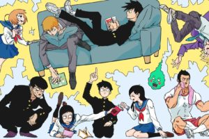 Mob Psycho 100, Kageyama Shigeo, Kageyama Ritsu, Ekubo, Arataka Reigen