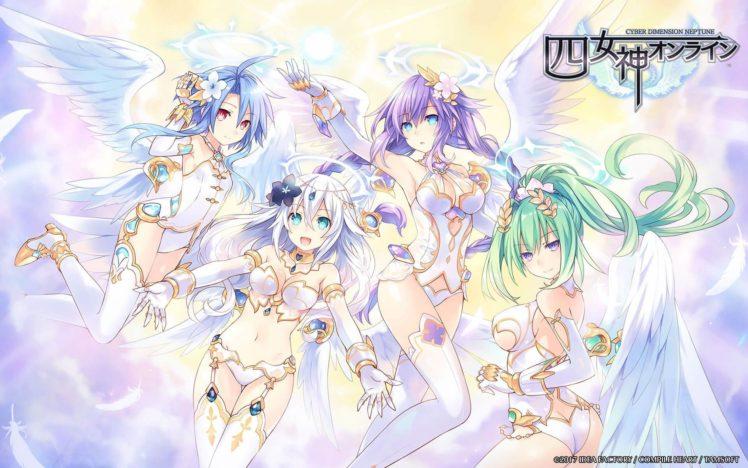 Hyperdimension Neptunia, Cyber Dimension Neptune, Thigh highs HD Wallpaper Desktop Background