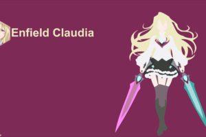 anime girls, Gakusen Toshi Asterisk, Claudia Enfield