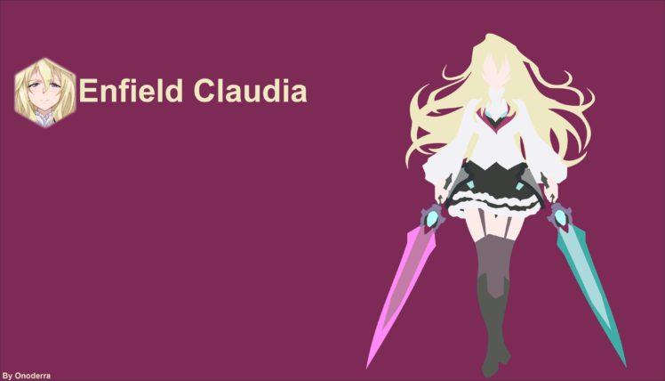 Anime Girls Gakusen Toshi Asterisk Claudia Enfield HD Wallpaper Desktop Background 4172x2385 Download Loading