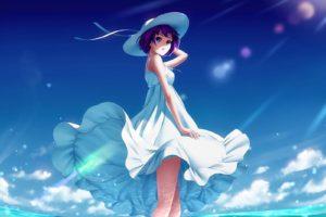 Monogatari Series, Senjougahara Hitagi, Anime girls
