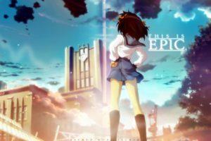 The Melancholy of Haruhi Suzumiya, Anime girls, Suzumiya Haruhi