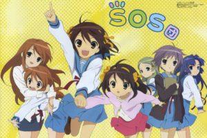 The Melancholy of Haruhi Suzumiya, Anime girls, Nagato Yuki, Suzumiya Haruhi, Asahina Mikuru