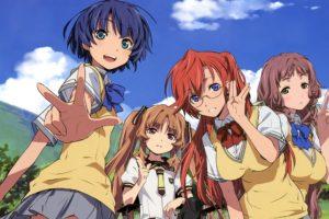 anime girls, Takatsuki Ichika, Tanigawa Kanna, Yamano Remon, Kitahara Mio, Ano Natsu de Matteru