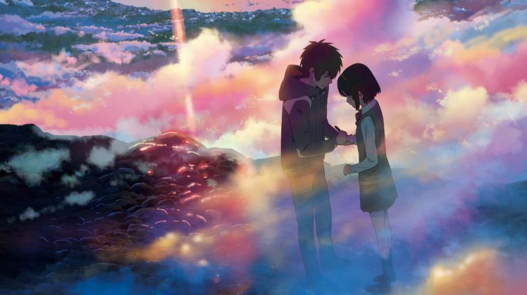 kimi no na wa, Kimi no Na Wa, Your name. HD Wallpaper Desktop Background