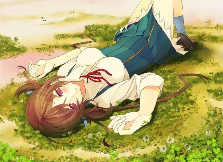 anime girls, Koi to Senkyo to Chocolate, Aomi Isara HD Wallpaper Desktop Background