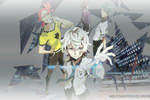 Kiznaiver, Tenga Hajime, Katsuhira Agata, Yuta Tsuguhito, Hisomu Yoshiharu, Anime boys