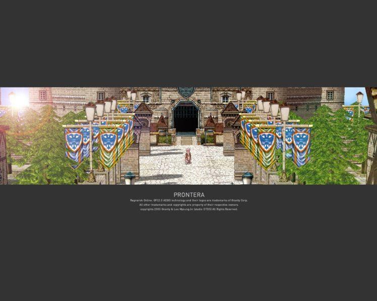 Ragnarok Online, Warpportal HD Wallpaper Desktop Background
