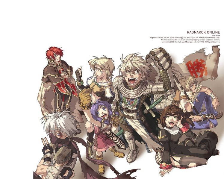 Ragnarok Online, Warpportal HD Wallpaper Desktop Background
