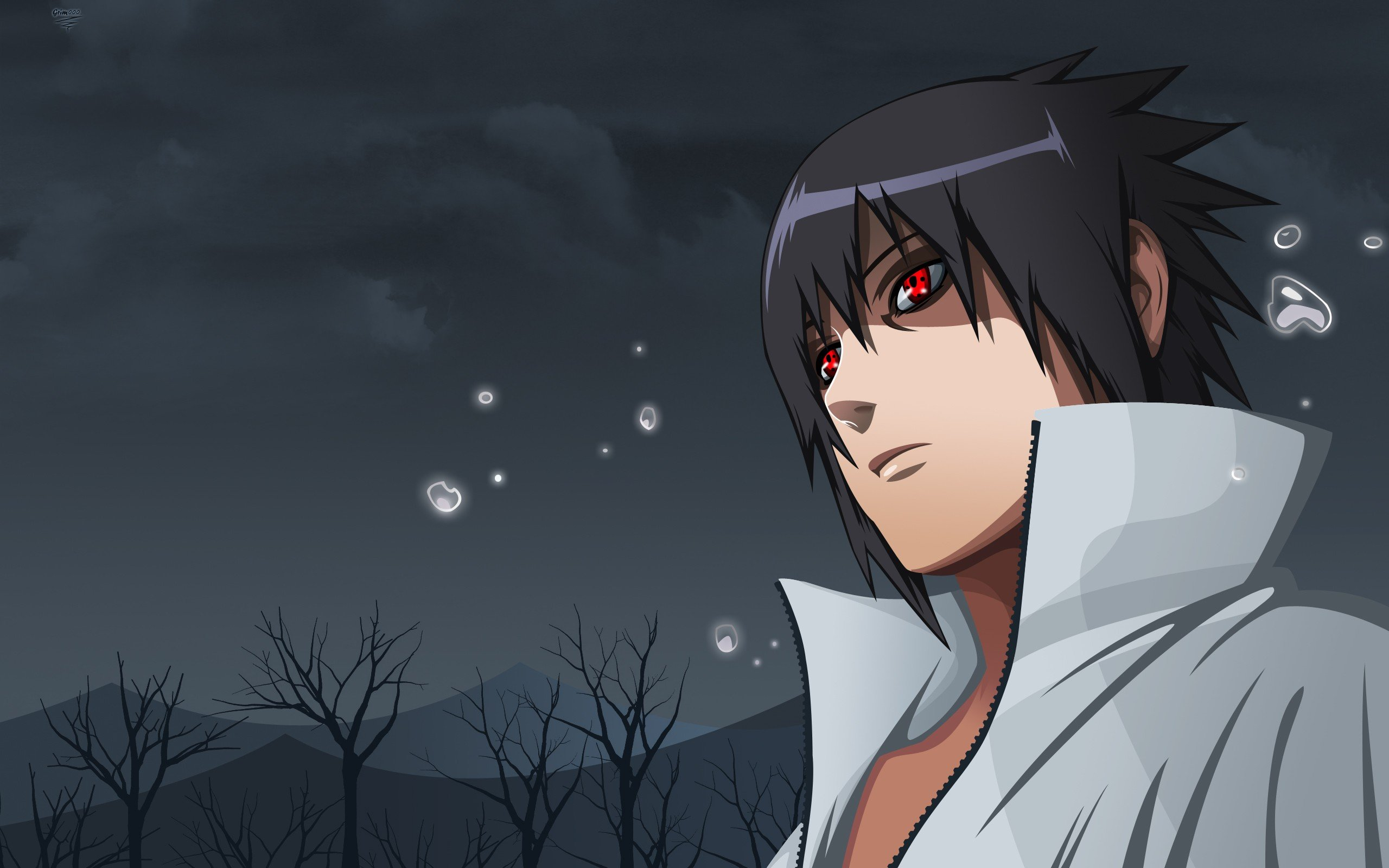 red eyes, Uchiha Sasuke, Closeup, Naruto Shippuuden HD ...