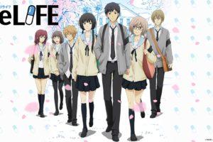ReLIFE, Hishiro Chizuru, Onoya An, Yoake Ryō, Kaizaki Arata, Kariu Rena, Tamarai Honoka
