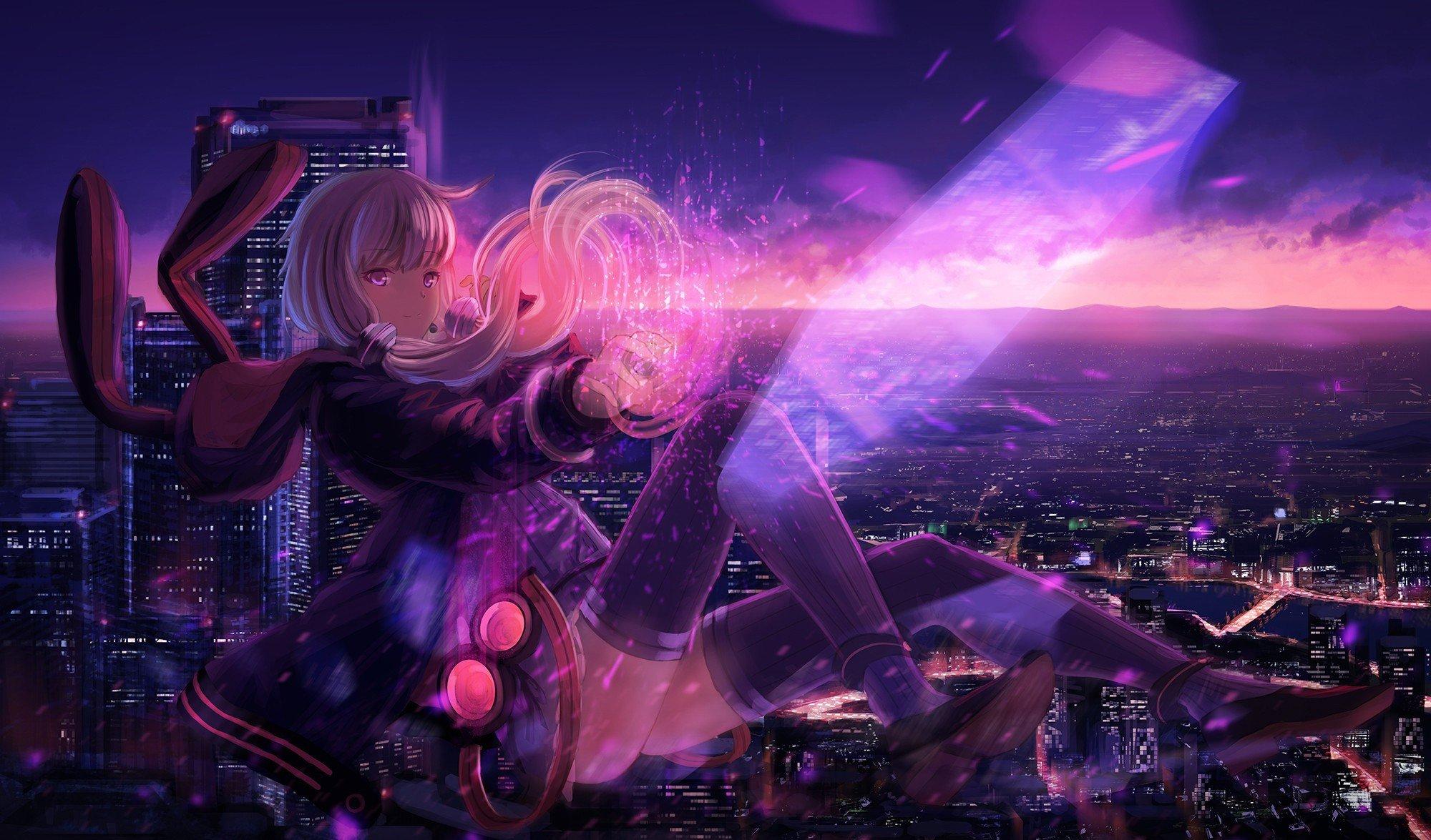 anime girls, Vocaloid, Yuzuki Yukari Wallpaper
