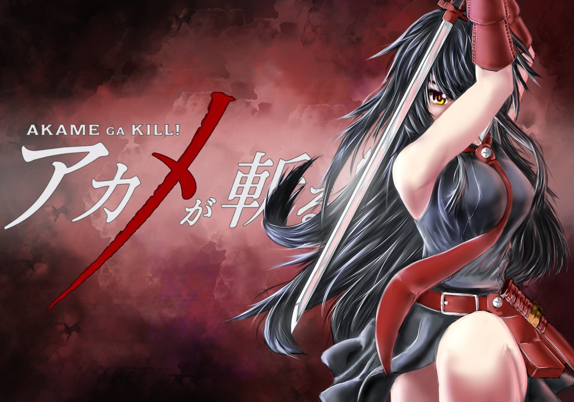 Akame Ga Kill Anime Girls Akame Hd Wallpapers Desktop And