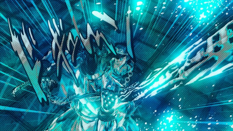 JoJo&039;s Bizarre Adventure, JoJo&039;s Bizarre Adventure: Stardust Crusaders, Jotaro Kujo, Star Platinum HD Wallpaper Desktop Background