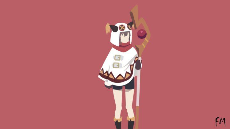 Kono Subarashii Sekai ni Shukufuku wo!, Anime girls, Megumin HD Wallpaper Desktop Background
