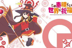 Kono Subarashii Sekai ni Shukufuku wo!, Anime girls, Megumin