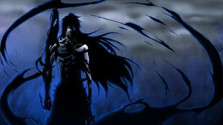 Bleach Anime Kurosaki Ichigo Mugetsu Final Getsuga Tenshou Dark HD Wallpaper