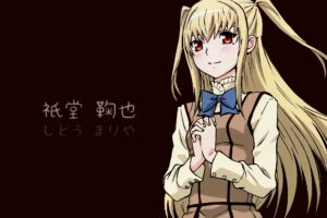Maria † Holic, Anime girls, Shidō Mariya