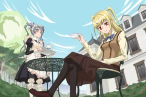 Maria † Holic, Anime girls, Shinōji Matsurika, Shidō Mariya
