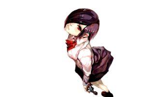 red eyes, Anime, Anime girls, Tokyo Ghoul, Kirishima Touka