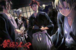 Shokugeki no Souma, Yukihira Soma, Hayama Akira, Aldini Takumi, Kurokiba Ryo, Anime