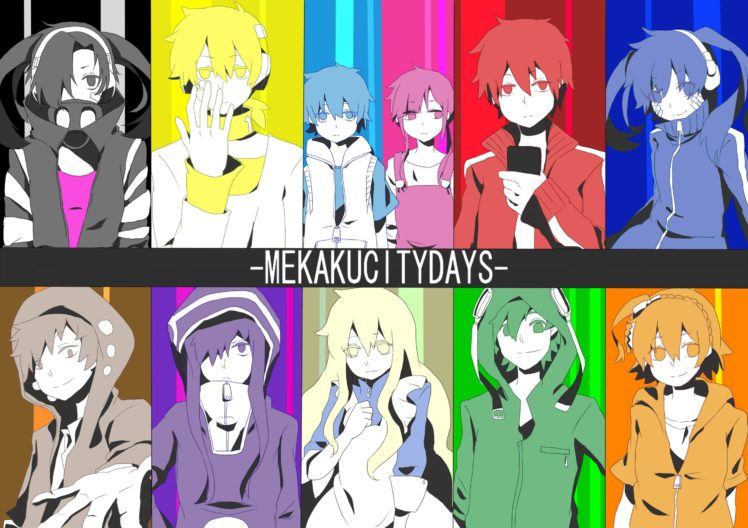 Kagerou Project, Mekakucity  Actors, Enomoto Takane, Kisaragi Shintaro, Kozakura Mary, Anime HD Wallpaper Desktop Background