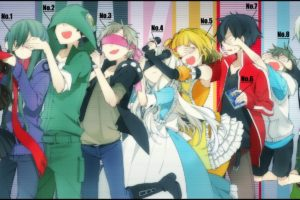 Kagerou Project, Mekakucity  Actors, Enomoto Takane, Kisaragi Shintaro, Tateyama Ayano, Kozakura Mary, Anime