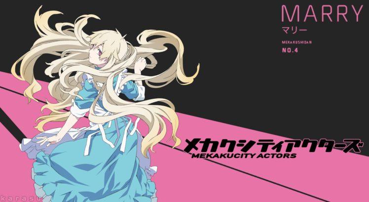 Kagerou Project, Mekakucity  Actors, Anime girls, Kozakura Mary HD Wallpaper Desktop Background