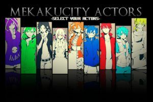 Kagerou Project, Mekakucity  Actors, Enomoto Takane, Kisaragi Shintaro, Tateyama Ayano, Kozakura Mary, Collage, Anime girls, Anime